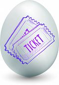 Ticket egg