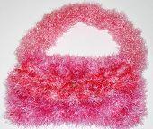 Furry Pink Shoulder Bag