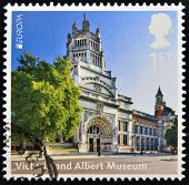 UNITED KINGDOM - CIRCA 2012: A stamp printed in Great Britain shows Victoria and Albert Museum