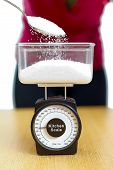 Sugar In Kitchen Scale