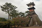 Old Pagoda In Kotohira - Japan