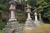 Typical Old Japanese Lanterns