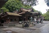 The Historic Temple In Kotohira - Japan