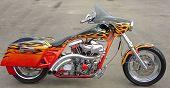Skull Bike Side View