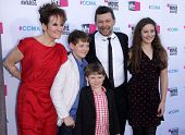 LOS ANGELES - JAN 12:  ANDY SERKIS & FAMILY arriving to Critic's Choice Movie Awards 2012  on January 12, 2012 in Hollywood, CA