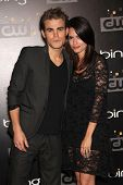 LOS ANGELES - AUG 10:  Paul Wesley & Torrey DeVitto arriving to CW Premiere Party  on August 10, 201