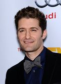 LOS ANGELES - DEC 02:  Matthew Morrison arrives to Trevor Project Honors Katy Perry  on December 02,