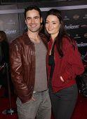 LOS ANGELES - APR 11:  Jesse Bradford & Monica