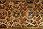 Baroque Ceiling  In Santa Maria In Trastevere, Rome