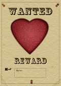 Love Wanted Poster