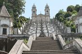 pic of neoclassical  - Bom Jesus do Monte sanctuary - JPG