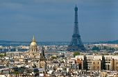 Eiffel Tower And Hotel Des Invalides