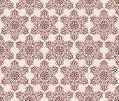 Seamless Pattern In Gothic Style
