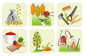 Six Icons For Home Economics