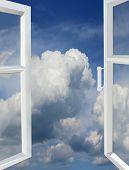 Opened Window To The Heaven