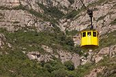 Cabin Cable Car To Montserrat
