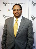 NEW YORK, NY - SEPTEMBER 6: Author/professor Michael Eric Dyson attends MSNBC's