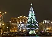 Moscow, Russia, Christmas Tree
