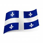 Flag of Quebec.