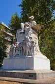 Monument (1884) To Felice Cavallotti. Milan, Italy