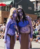 Two Street Parade Performers