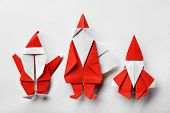 Santa claus,paper craft.