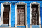 Doorways in Sancti Spiritus, Cuba
