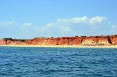 image of vilamoura  - Beach Rocha Baixinha Leste Vilamoura Algarve Portugal - JPG