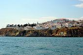 image of vilamoura  - Beach Peneco Albufeira Algarve Portugal summer sea  - JPG
