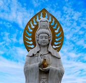 Statue Of Guanyin Goddess