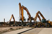 Timber Trucks And Other Machinery