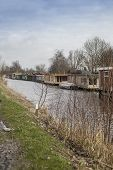 Floating Dutch Houseboats