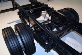 image of chassis  - Brand new truck chassis - JPG
