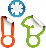 Asterisk, Exclamation Mark And Question Mark