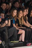 NEW YORK-FEB 8: Actress Anna Kendrick attends the Jill Stuart fashion show during Mercedes-Benz Fash
