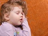 Portrait Of Sleeping Girls