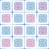 Colorful Abstract Seamless Lace Pattern Texture