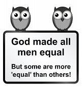 All men equal