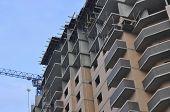 Multi-storey Building Under Construction.