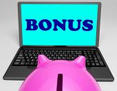 Bonus Laptop Means Perk Benefit Or Dividends