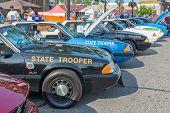 Police Cars, Emergency Vehicle Show, Woodward Dream Cruise