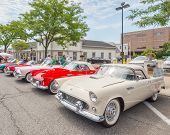 Thunderbirds At The Woodward Dream Cruise