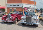 Rolls Royces At The Woodward Dream Cruise