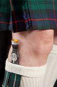 Scottish Knife And Kilt