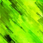 art abstract geometric diagonal pattern background in yellow and green colors