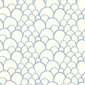 Seamless pattern with abstract stylized hand drawn scale texture
