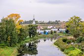 Old Russian Town Suzdal At Autumn
