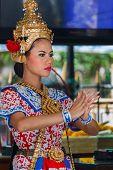 Thai Traditional Dance at The Earawa Shrine in Bangkok