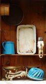 vintage kitchen equipment