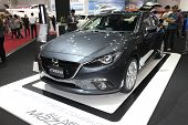 Bangkok - August 19: Mazda Skyactive Sports Compact Car On Display At Big Motor Sale On August, 2014